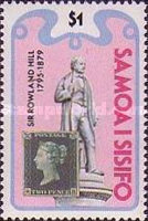 [The 100th Anniversary of the Death of Rowland Hill, 1795-1879, Typ MC]
