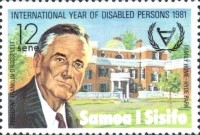 [International Year for Disabled Persons - President Franklin D. Roosevelt Commemoration, 1882-1945, type NI]