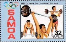 [Olympic Games - Los Angeles, USA, Typ QZ]