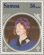 [The 85th Anniversary of the Birth of Queen Elizabeth the Queen Mother, 1900-2002, Typ RU]
