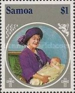 [The 85th Anniversary of the Birth of Queen Elizabeth the Queen Mother, 1900-2002, Typ RV]
