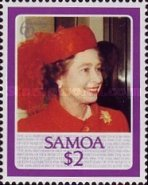 [The 60th Anniversary of the Birth of Queen Elizabeth II, Typ SV]