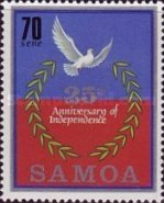 [The 25th Anniversary of Independence, Typ TL]