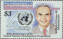 [The 40th Anniversary of U.N. Development Program, type XH]