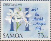 [Christmas - Carols and Orchids, type XR]