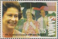 [The 40th Anniversary of Queen Elizabeth II's Accession, Typ YB]