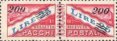 [Parcel Post Stamps of 1946 Surcharged, type C1]
