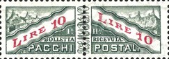 [Parcel Post Stamps of 1956 & 1960 with New Watermark, Typ D7]