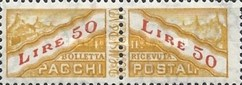 [Parcel Post Stamps of 1956 & 1960 with New Watermark, type D8]