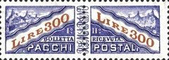 [Parcel Post Stamps of 1956 & 1960 with New Watermark, type D9]
