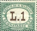 [Numeral Stamps, Typ A14]