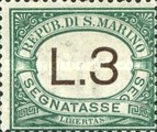 [Numeral Stamps, Typ A15]