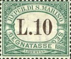 [Numeral Stamps, Typ A17]