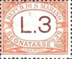 [Numeral Stamps - New Colors, Typ A24]