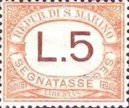 [Numeral Stamps - New Colors, Typ A25]