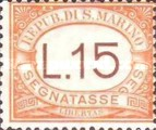[Numeral Stamps, Typ A27]