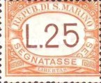 [Numeral Stamps, Typ A28]