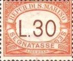 [Numeral Stamps, Typ A29]