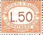 [Numeral Stamps, Typ A30]