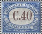 [Numeral Stamps, Typ A35]