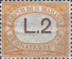 [Numeral Stamps, Typ A36]