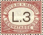[Numeral Stamps, Typ A6]