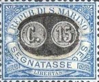 [Numeral Stamps of 1925 Surcharged, Typ B]