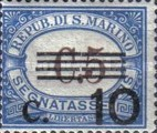 [Numeral Stamps of 1925-1939 Surcharged, Typ B16]