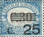 [Numeral Stamps of 1925-1939 Surcharged, Typ B17]