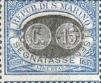 [Numeral Stamps of 1925 Surcharged, Typ B2]