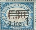 [Numeral Stamps of 1925-1939 Surcharged, Typ B20]