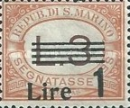 [Numeral Stamps of 1925-1939 Surcharged, Typ B22]