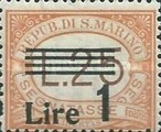 [Numeral Stamps of 1925-1939 Surcharged, Typ B23]