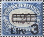 [Numeral Stamps of 1925-1939 Surcharged, Typ B25]