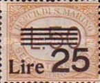 [Numeral Stamps of 1925-1939 Surcharged, Typ B26]