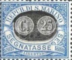 [Numeral Stamps of 1925 Surcharged, Typ B7]