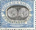[Numeral Stamps of 1925 Surcharged, Typ B8]