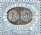 [Numeral Stamps of 1925 Surcharged, Typ B9]