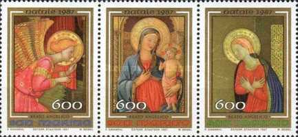 [Christmas - The 600th Anniversary of the  Birth of Fra Angelico, Typ ]