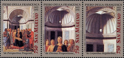 [Christmas - The 500th Anniversary of the Death of Piero della Francesca, Typ ]
