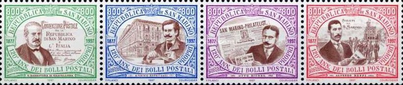 [The 120th Anniversary of Stamps in San Marino, Typ ]