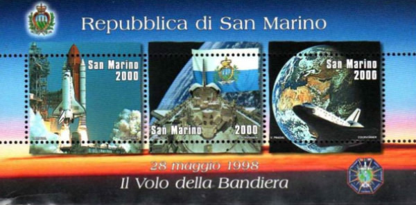 [San Marino`s Flag in Space, Typ ]