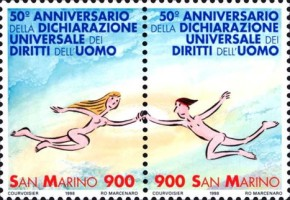 [The 50th Anniversary of the Universal Declaration of Human Rights, Typ ]