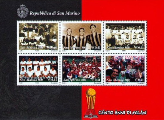 [Football - The 100th Anniversary of AC Milan, Typ ]