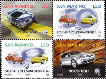 [The 50th Anniversary of Volkswagen Italy & The 30th Anniversary of VW Golf, Typ ]