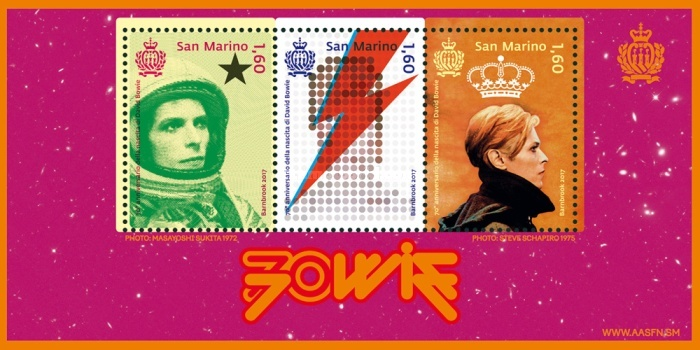 [The 70th Anniversary of the Birth of David Bowie, 1947-2016, Typ ]