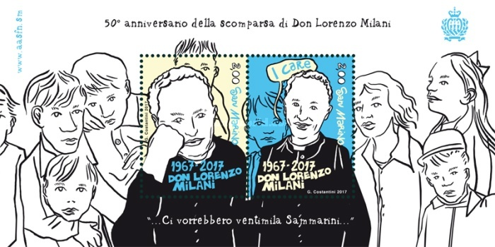 [The 50th Anniversary of the Death of Lorenzo Milani, 1923-1967, Typ ]