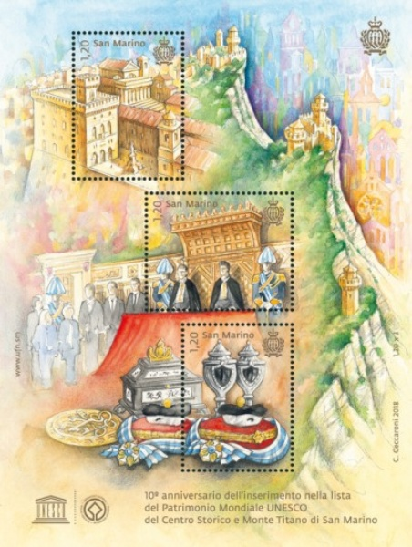 [The 10th Anniversary of San Marino in the UNESCO World Heritage List, Typ ]