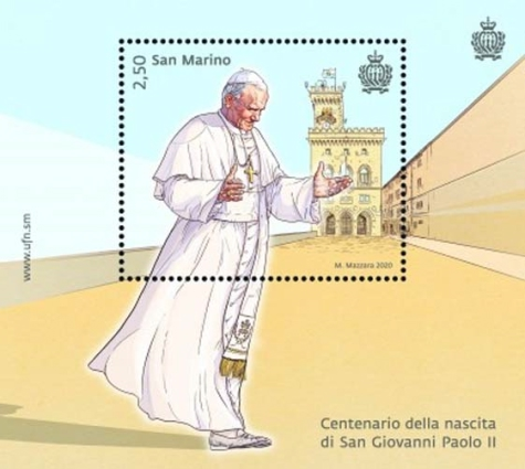 [The 100th Anniversary of the Brith of Pope John Paul II, 1920-2005, type ]