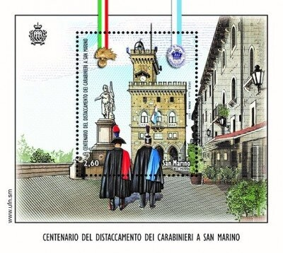 [The 100th Anniversary of the Carabinieri in San Marino - Joint Issue with Italy, type ]